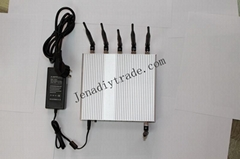 NEW 15W Signal Jammer block 3G and Wifi