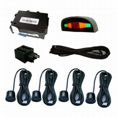 Rear-end Collision Warning System+Reverse Parking Sensor
