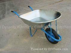 Galvanized Tray Wheelbarrow-wb7201