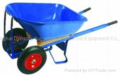 Super Heavy Duty Large Capacity Steel Tray Two Wheels Wheelbarrow-WB8806