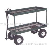 Steel Mesh Deck Wagon-TC1809 1