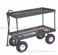 Steel Mesh Deck Wagon-TC1809