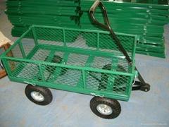 Steel Mesh Deck Wagon-TC1840A