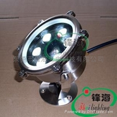水底燈、水下燈、噴泉燈、泳池燈(FH-SC155-6W)