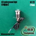 Stainless steel mini led underground