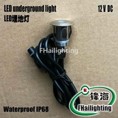 Stainless steel mini small buried light