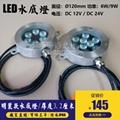 超薄款不鏽鋼led泳池燈FH-