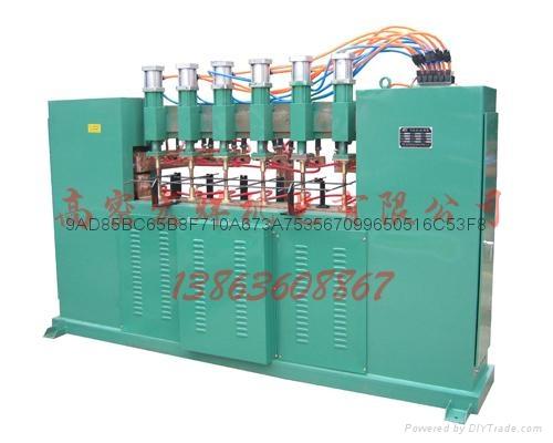 高密暖氣片設備真空內防腐自動灌裝機 3