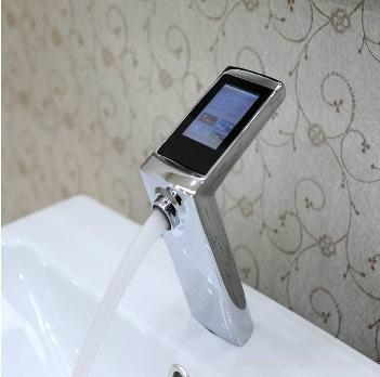 digital thermostatic faucet sj f200 38du china manufacturer other faucets taps mixers. Black Bedroom Furniture Sets. Home Design Ideas