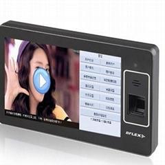 安卓指紋考勤機微信短信考勤機