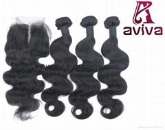 """Brazilian virgin hair  Body Wave 20"""""""