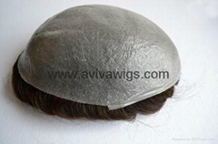 PU Base Toupee (AV-TP02S) super thin toupee