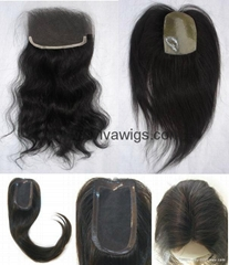 Human Hair Lace Top Closure (AV-HC010)