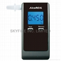 Breathalyzer with Fuel-Cell Sensor and 2