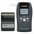 Breathalyzer with Printer Port and