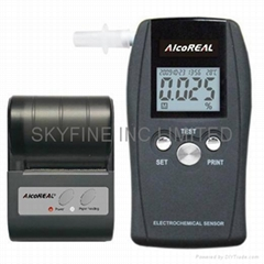 Breathalyzer with Printer Port and FDA-510K Listed