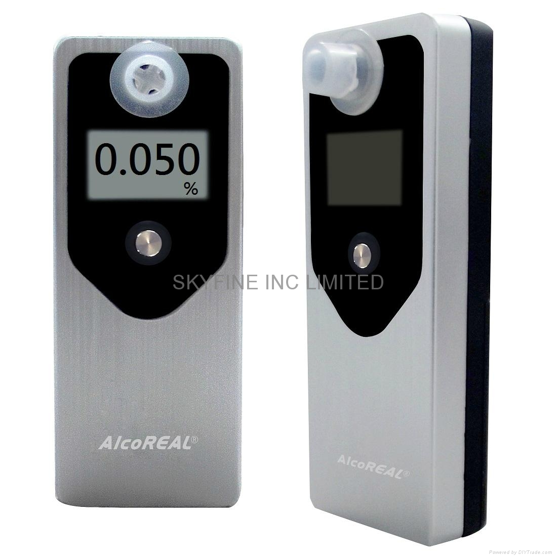 Breathalyzer with Fuel-Cell Sensor and FDA listed