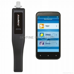 Smartphone Breathalyzer with Fuel Cell Sensor and APP