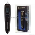 Pen Shape Breathalyzer with Fuel-Cell Sensor and 1 AAA battery