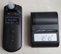 警用电化学酒测仪含无线打印功能