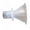 Funnel Mouthpiece for quick test