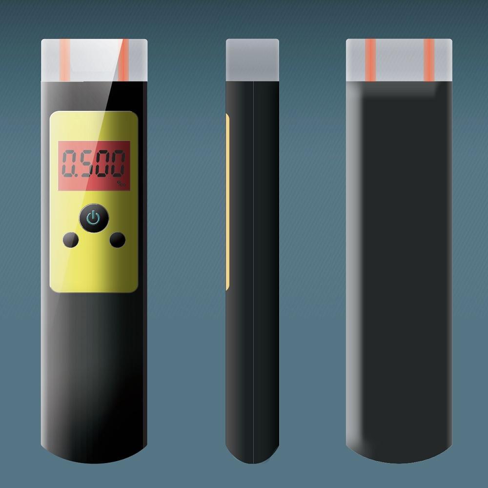 快筛型警用电化学酒测仪含蓝芽及串口输出 1