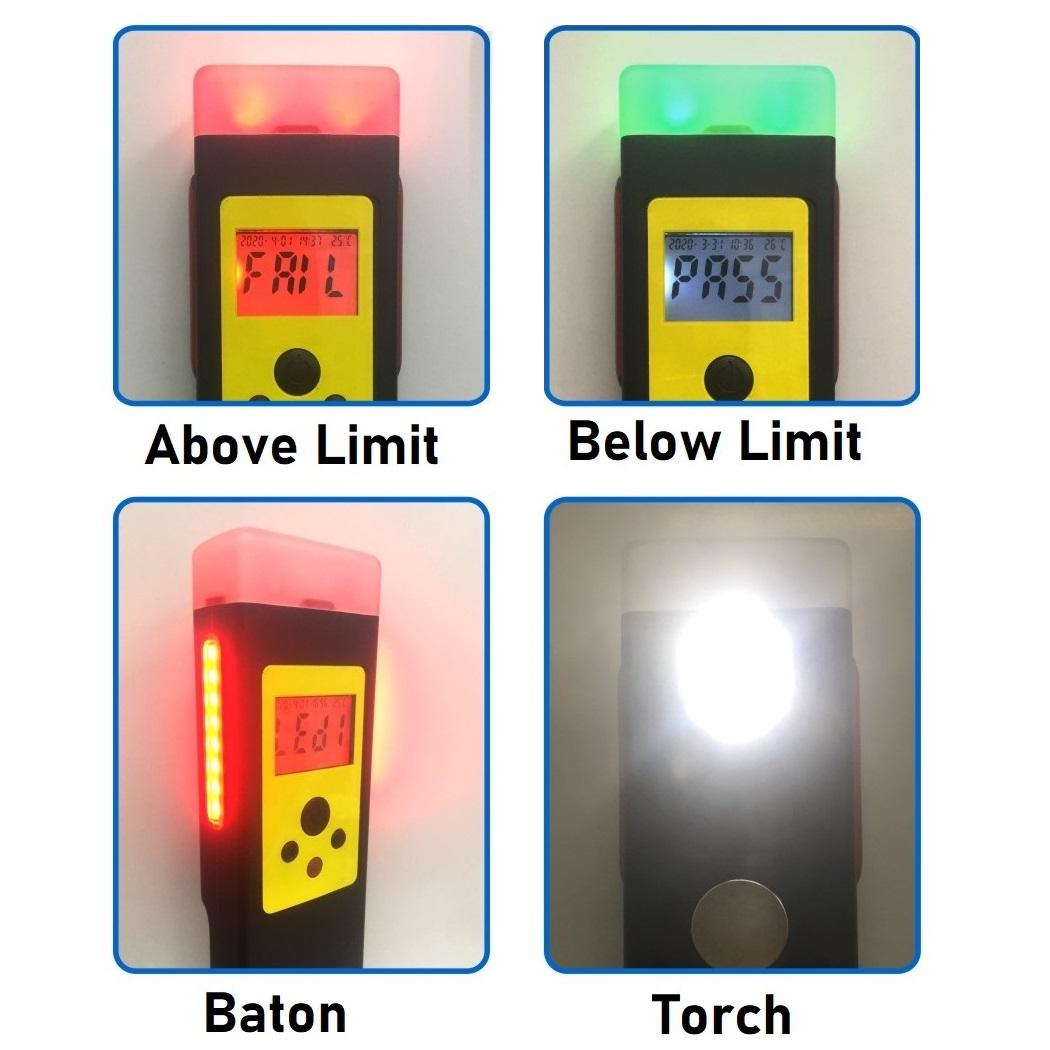 快筛型警用电化学酒测仪含蓝芽及串口输出 4