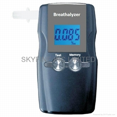 Digital Alcohol Tester with 20 memories and replaceable sensor box