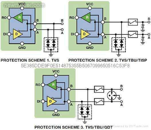低电容瞬变二极管阵列GBLC03C 4