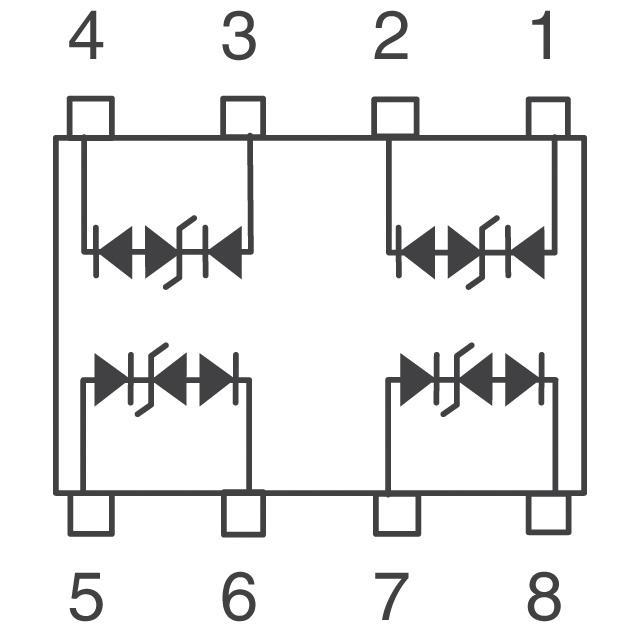 S  U2.8-8瞬态抑制二极管阵列 3