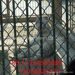ga  anized and pvc chain link fence