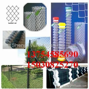 ga  anized and pvc chain link fence 3