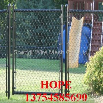 ga  anized and pvc chain link fence 5