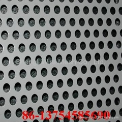 Perforated Metal Sheet (0.2 to 10mm)