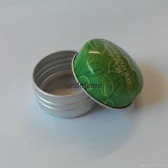 圆形精油铝盒