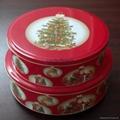 圣诞圆形套罐