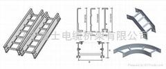 新型強載梯級式電纜橋架