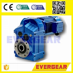 MTP series parallel shaft gear motor speed reducer gear reducer