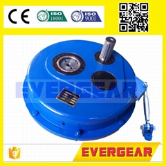 MTTA series helical gear shaft mounted  speed reducer gearbox