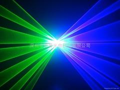 藍綠雙投舞臺激光燈