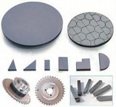 Polycrystalline diamond) PCD cutting tool blanks
