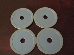ceramic bond Diamond bruting wheel for diamond polishing