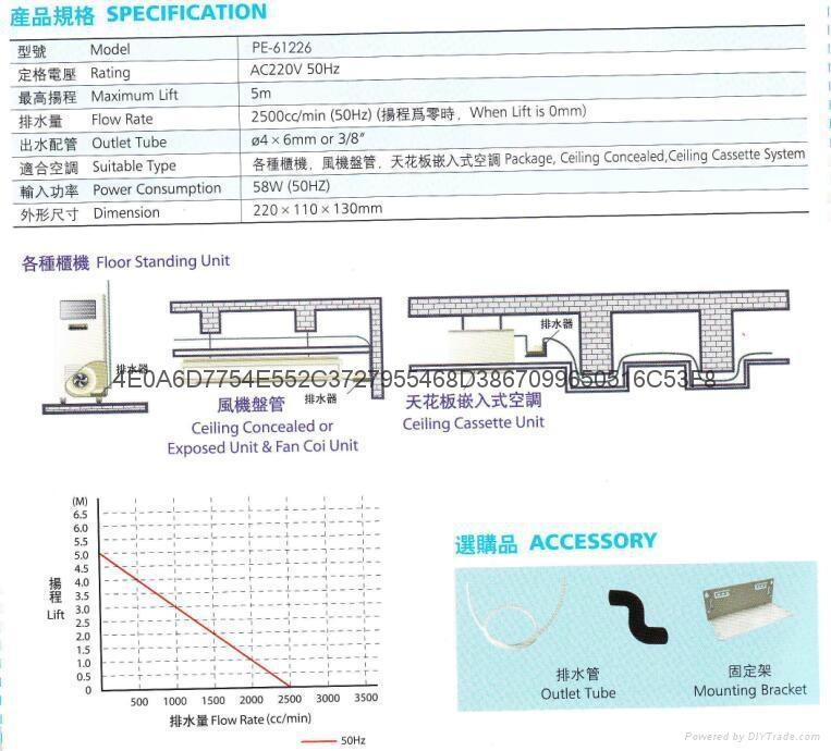 臺灣合璧冷凝水提升泵PE61226 3
