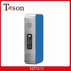2015 Latest design mech mod, 50w mini box mod, colorful vape mod