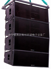 雙12寸三分頻線性音箱
