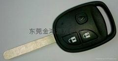 遥控锁匙双色模具