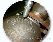 杭州天然气瓶检测专用气动打标机 1