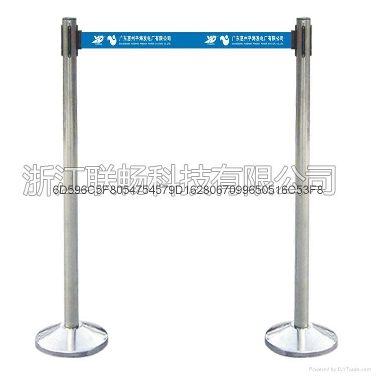 HF-D型 不锈钢单带伸缩式围栏 2