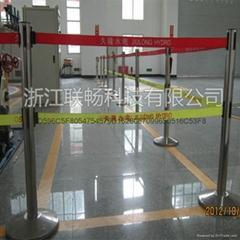 HF-D型 不锈钢单带伸缩式围栏