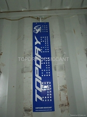 container desiccant pole